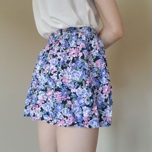 Dresses & Skirts - Purple floral skirt